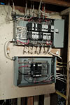 electrical panel after